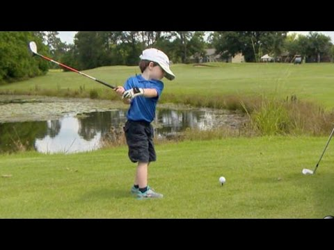 Is This 3-Year-Old Golf Prodigy the Next Tiger Woods? | Nightline | ABC News (видео)