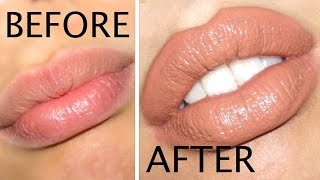 Video How to Make Your Lips Look BIGGER in 5 Minutes!!! MP3, 3GP, MP4, WEBM, AVI, FLV November 2018