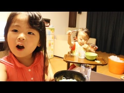 Rino - 2013年8月19日/Y:1歳9ヶ月/R:4歳2ヶ月 This is a record of the mistakes of her words. We asked her where she went to with grandma on that day. Then she answered 'Ito Dok...