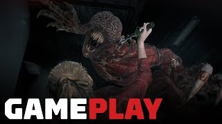 Gameplay Claire e Licker