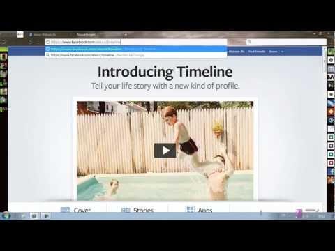 comment appliquer timeline sur facebook