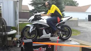 5. 2007 cbr600rr dyno run toce exhaust 125 hp