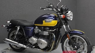 6. 2012  TRIUMPH  BONNEVILLE T100 SE  - National Powersports Distributors