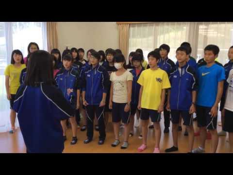戸倉復興住宅 北海道大樹町立大樹中学校生徒の皆さん(3)