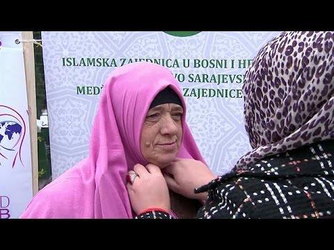 Παγκόσμια Ημέρα Χιτζάμπ στο Σαράγεβο της Βοσνίας