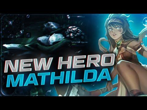 DESTEK Mİ SUİKASTÇI MI? NEW HERO MATHILDA | MOBILE LEGENDS
