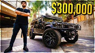 Video MY NEW $300,000 CAR HUMMER H1 *MILITARY GRADE* MP3, 3GP, MP4, WEBM, AVI, FLV April 2018