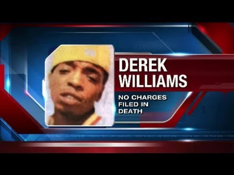 Feds won't pursue charges in Derek Williams case