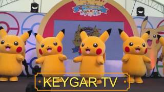 Lagu Anak Selamat Ulang Tahun Badut Pokemon Joget Dangdut | Pikachu Happy Dancing