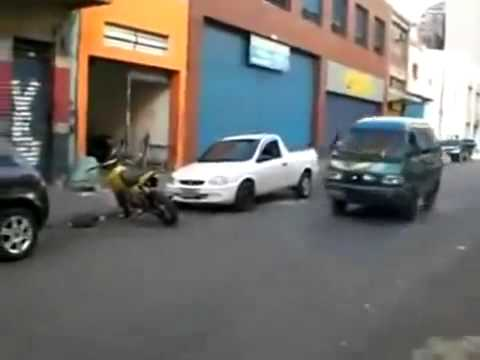 Mini Van Does a Stoppie EPIC Endo MUST WATCH HD/HQ