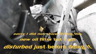 2. POLARIS RZR 570 ENGINE OIL CHANGE AND OIL FILTER