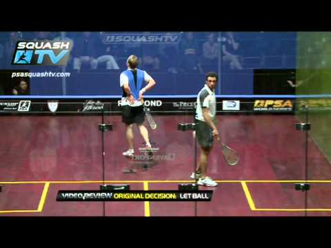 Squash : So You Think You Can Ref ? : Ramy Ashour v Nick Matthew – Contact : NAO Squash 2012