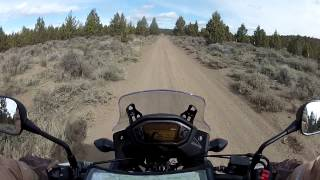 9. 2015 Honda CB500X - Off-Road Testing Stock Motorcycle