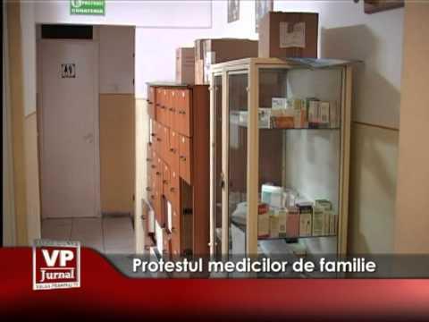 Protestul medicilor de familie