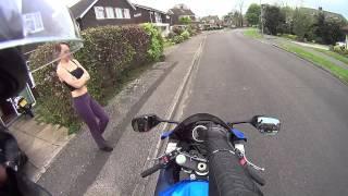 5. Motorcycle Test Ride - 2012 Suzuki GSXR 750 | KSFmotors