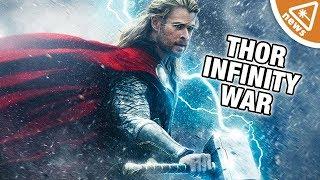 Video Why Thor's Hammer Is Creating Problems for Infinity War! (Nerdist News w/ Jessica Chobot) MP3, 3GP, MP4, WEBM, AVI, FLV Juli 2018