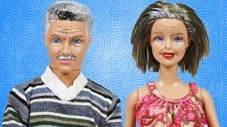 Video Barbie ve Ailesi çizgi film tadında evcilik oyunları dizisine Annane ve Dede katılıyor   Evcilik TV MP3, 3GP, MP4, WEBM, AVI, FLV Desember 2017