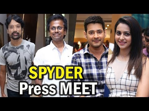 SPYDER Movie Team Press Meet