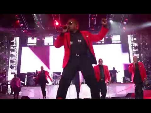 2016 Essence Festival - New Edition Performs