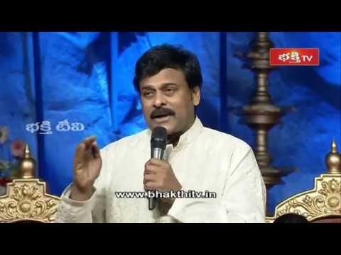 Chiranjeevi Speech about Koti Deepothsavam Event