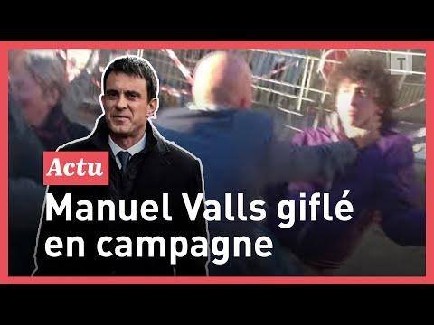 Video - Γαλλία: Νεαρός χαστούκισε τον Βαλς (video)