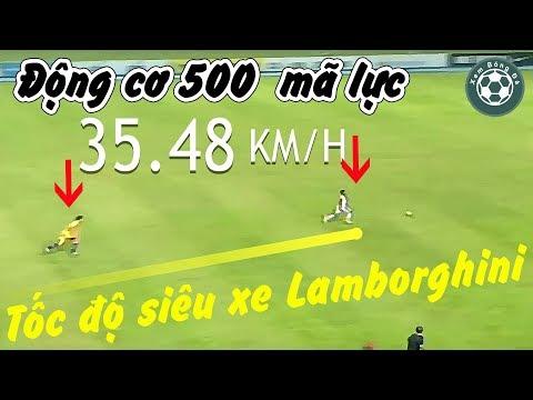 Khi những cầu thủ gắn động cơ 500 mã lực bứt tốc nhanh nhất hơn cả siêu xe Lamborghini @ vcloz.com