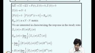 Mod-04 Lec-14 Random Vibrations Of Mdof Systems-2