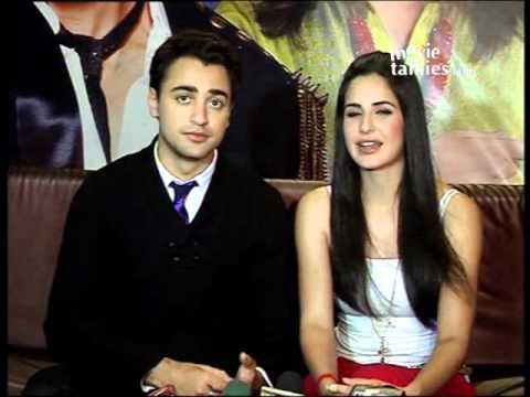 Katrina kaif and imran khan on just dance