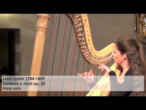 Louis Spohr Fantasie c-moll op 35, Silke Aichhorn – Harfe / Harp