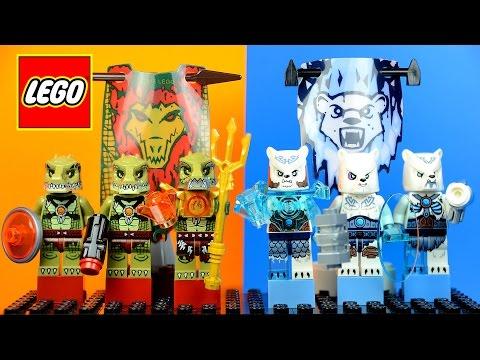 Vidéo LEGO Chima 70230 : La tribu Ours des glaces
