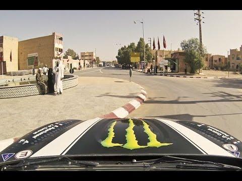 درفت وشغب في شوارع المغرب تحضيرا لرالي داكار 2014