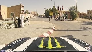 Watch Monster Energy's X-raid team member Stéphane Peterhansel as he scales the dunes of Morocco, speeds into the city of ...