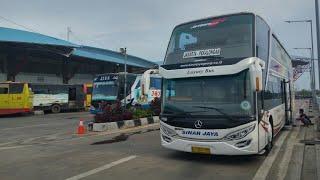 Video Rame dan Serunya spotting bus di terminal Pulogebang MP3, 3GP, MP4, WEBM, AVI, FLV Juli 2018