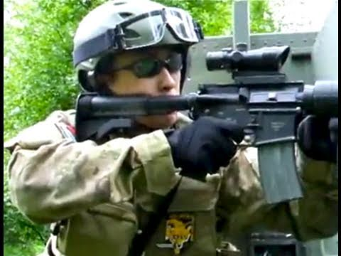 Airsoft - Airsoft guns in action. 1 of over 400 airsoft war videos at http://www.youtube.com/scoutthedoggie Filmed by the No1 YouTube video maker in Scotland, over 120...