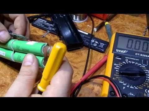 Ремонт батареи ноутбука samsung своими руками