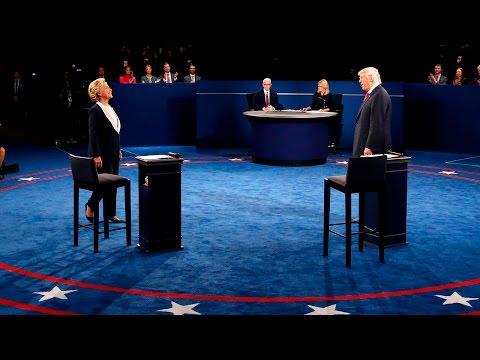 Клинтон vs Трамп. Последние дебаты (видео)