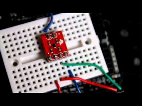 Digital temperature sensor TMP102 and Arduino