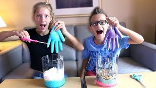 Video MYSTERY BOX of SLIME GLOVES CHALLENGE!!! MP3, 3GP, MP4, WEBM, AVI, FLV September 2018