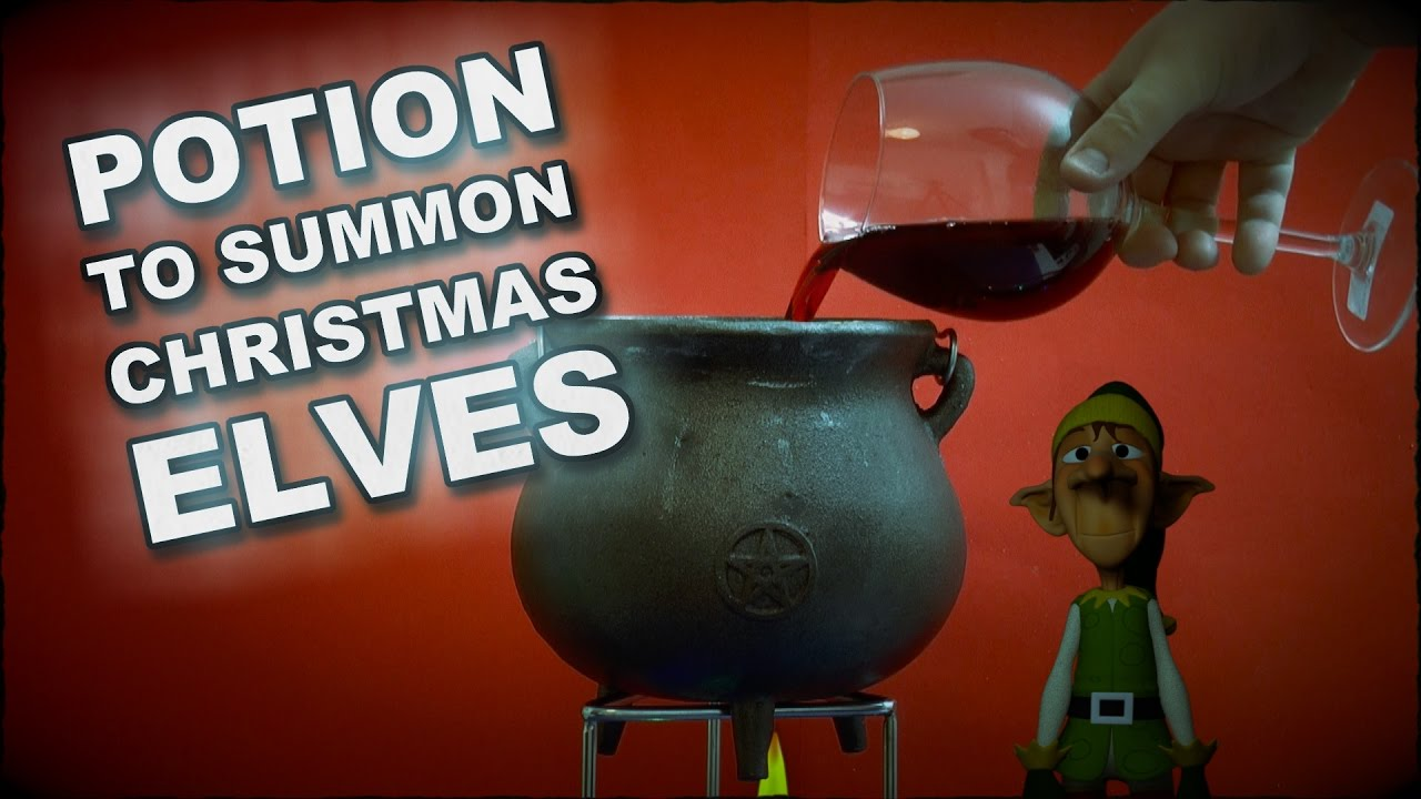 How To Make A Potion To Summon A Christmas Elf