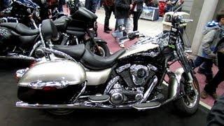 6. 2013 Kawasaki Vulcan 1700 Nomad - Walkaround - 2013 Quebec Motorcycle Show