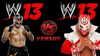 Rey Mysterio VS Sin Cara ( Hell In A Cell ) - WWE 13 ( Xbox 360 )