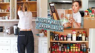 huge amazon kitchen haul + insane organization!! by Alisha Marie Vlogs