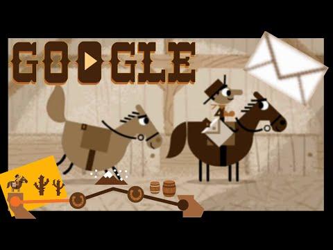 Google PONY EXPRESS All 100 Letters Delivered! | Complete Walkthrough of the Google Doodle Game