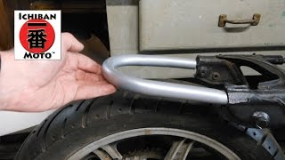 10. How to install a cafe racer seat loop / brat seat hoop on your motorcycle