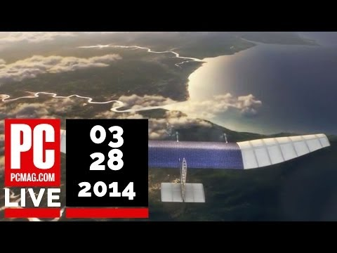 PCMag Live 03/28/14: Microsoft Office for iPad & Facebook's Drone Project