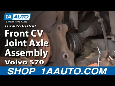 How To Install Replace Front CV Joint Axle Assembly Volvo S70 98-00 1AAuto.com