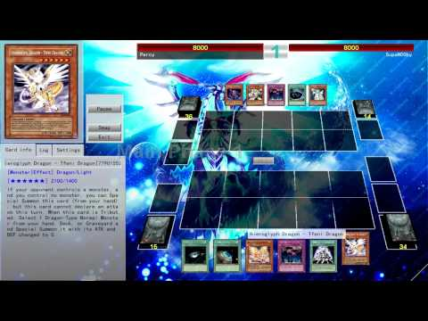 Percival18 - Having some fun with Hieroglyph Dragons. This vid shows 3 replays of different experimental Hieroglyph (Hieratic) decks. -The first deck focuses on rank 6 Xy...