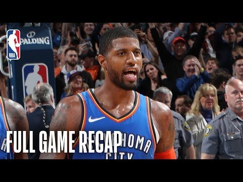 Video: JAZZ vs THUNDER | Russell Westbrook & Paul George Combine For 88 | February 22, 2019