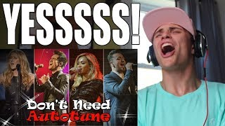 Video Top 12 Singers Who Really Don't Need Autotune REACTION MP3, 3GP, MP4, WEBM, AVI, FLV September 2018