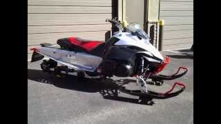 2. Yamaha Nytro MTX snowmobile for sale - 40th Anniversary Edition - FOX Floats